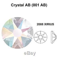 1440 Swarovski 2088 20ss flatback rhinestones ss20 CRYSTAL AB (001 AB)