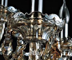 15 Lights Gorgeous K9 Crystal Chandelier Ceiling Fixture Lamps Lighting 110-240V
