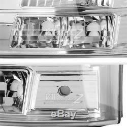 1PC Headlight/Bumper Signal Crystal Lamp 2003-2006 Chevy Silverado SS V8 Truck