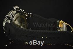 20395 Invicta Venom Sea Dragon Swiss MOP Dial Silver Tone Case Black Strap Watch