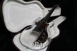 2Custom Shop 6 Strings Dan Electric Guitar Crystal Guitar Acrylic Body Rosewood
