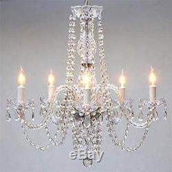 Authentic All Crystal Chandelier Chandeliers Lighting 24 X 25