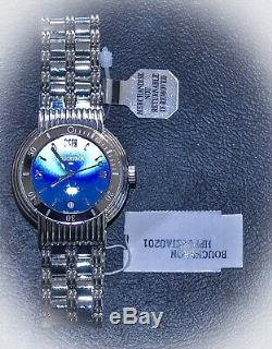 BOUCHERON Solis Blue Dial Quartz Swiss Made 10 ATM Men's Watch Brand New