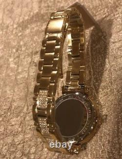 BRAND NEW Michael Kors Women's Gold Tone Stainless Steel Bracelet Watch MK3881