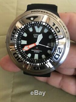 BRAND NEW SEALED CITIZEN ECO DRIVE PRO MASTER DIVER WATCH WithDATE BJ-8050 300m