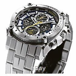 BULOVA Precisionist Chronograph Gents Watch 96B175 RRP £699 BRAND NEW