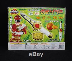 Bandai Power Rangers Wild force DX CRYSTAL SABER SABRE Gao-Ranger Sword Weapon