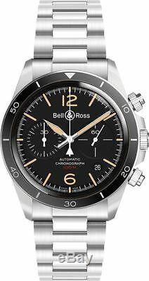 Brand New Bell & Ross Vintage Men's Watch for Sale BR-V2-94-STEEL-HERITAGE-SST