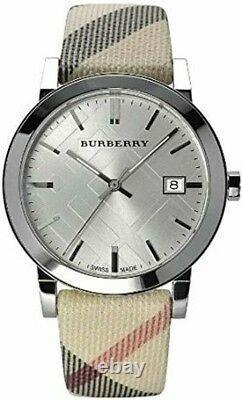 Brand New Burberry BU9022 Heritage Check Stainless Steel Women's Watch