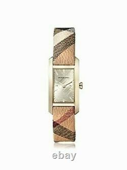 Brand New Burberry BU9509 Pioneer Nova Gold Tone Stainless Steel Women's Watch
