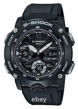 Brand New CASIO G-SHOCK GA-2000S-1A Carbon Core Guard Men's Watch