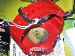 Brand New Casio G-shock G-9300rd-4 Mudman Red Tough Solar Limited 100%genuine