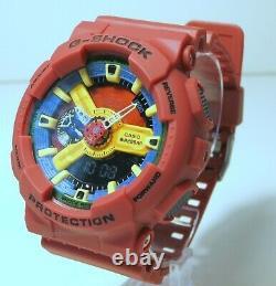 Brand New Casio G-shock GA-110FC-1 Hyper Colors Rare Big Face Men Watch