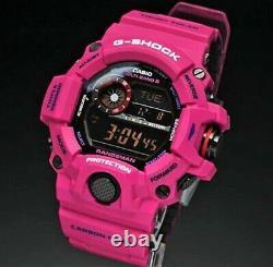 Brand New Casio G-shock Gw-9400srj-4 Rangeman Sunrise Purple Carbon Limited
