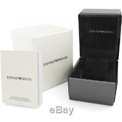 Brand New Emporio Armani Men's Gianni Leather Watch AR0386
