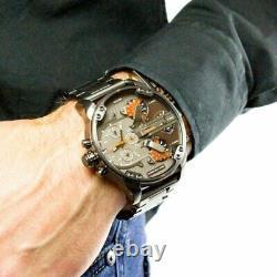 Brand New Genuine Diesel Dz7315 Daddy 2.0 Gunmetal Grey Chronograph Mens Watch