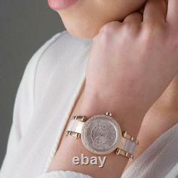 Brand New Genuine Mk6110 Michael Kors Parker Rose Mini 33mm Women Watch Uk