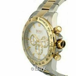 Brand New Men's Hugo Boss Watch HB1512960 Ikon Chronograph Two-Tone UK SELLER