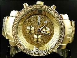 Brand New Mens Jojino/Joe Rodeo Aqua Master Metal Band 25 Diamond Watch Mj-1097