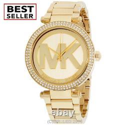 Brand New Michael Kors Women's Parker MK5784 Gold Stainless-Steel Fashion Watch