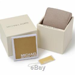 Brand New Michael Kors Wren Chronograph Womens Watch Mk6096 Rose Gold Dial