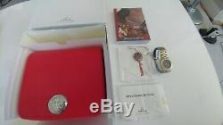 Brand New Omega Seamaster Polaris Multifunction 18k Solid Gold Stainless Steel