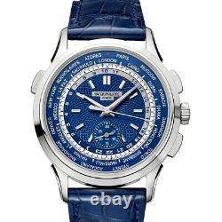 Brand New Patek Philippe 5930G-001 18k White Gold World Time Men's watch