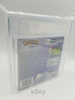 Brand New Sealed Pokemon Crystal Version Game Boy Color VGA graded 80+ 2001