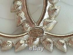 Brand new Chanel 20A CC Brooch with crystal