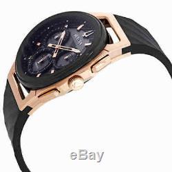 Bulova Curv Chronograph Black Dial Men's Watch 98A185