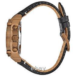 Bulova Precisionist Men's Quartz Chronograph Bronze IP Case 46mm Watch 97B188