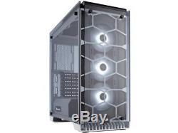 CORSAIR Crystal 570X RGB Tempered Glass, Premium ATX Mid Tower Case, WHITE
