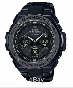 Casio G-Shock G-Steel Men's Auto Calendar Black 59mm Watch GSTS110BD-1B