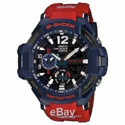 Casio G-Shock GA-1100-2ADR Gravitymaster Stylish Watch Blue / One Size