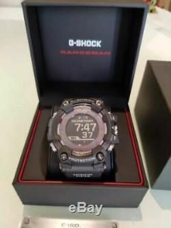 Casio G-Shock Rangeman Solar GPS Navigation Bluetooth Men's Watch GPRB1000-1