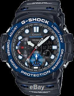 Casio Gulfmaster Master of G Men's Quartz Twin Sensor 53.5mm Watch GN1000B-1A