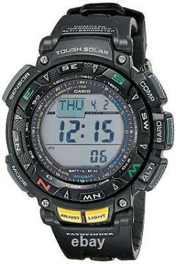 Casio Pro Trek Men's Pathfinder Triple Sensor Sport Resin Watch PAG240-1