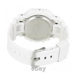 Casio Women's Watch G-Shock Rose Gold Dial Dive White Strap GMAS120MF-7A2