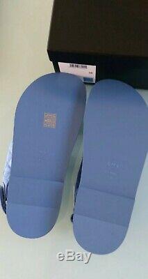 Chanel SS20 Women Dad Sandals Blue Denim With Crystal Brand new BNIB Size 38 UK