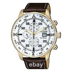 Citizen Aviator Men's Eco-Drive Watch CA0693-12A NEW