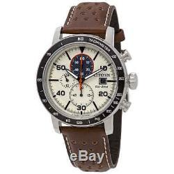 Citizen Brycen Chronograph Light Brown Dial Men's Watch CA0649-06X
