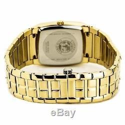 Citizen Eco-Drive Paradigm Men's Black Dial Gold-Tone 44mm Watch AU1072-52E