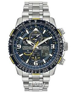 Citizen Men's Blue Angels Skyhawk Eco-Drive Atomic Time Keeping Watch JY8078-52L