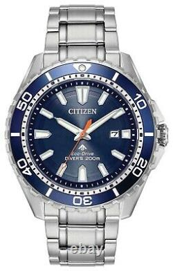 Citizen Promaster Diver Men's Eco Drive Watch BN0191-80L NEW