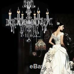 Crystal Chandelier Modern Ceiling Light Fixture Lamp Pendant Romantic Lighting
