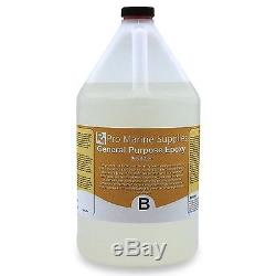 Crystal Clear Epoxy Resin General Purpose Bar Table Top Coating Wood 6 Gal Kit