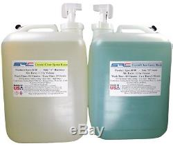 Crystal Clear Epoxy Resin for Table Tops Laminating Coating Casting 10 Gallons