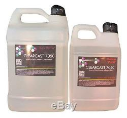Crystal clear epoxy resin art resin flow art epoxy Clearcast 7050 13 pounds