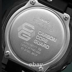 EXPRESS CASIO G-SHOCK Carbon Core Guard Black Watch GShock GA-2100-1A1 Casioak