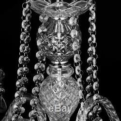 Elegant Crystal Chandelier Modern Ceiling Light 4 Lamp Pendant Lighting Fixture
